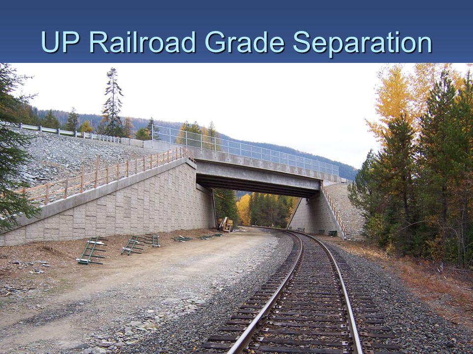 UP Railroad Grade Separation