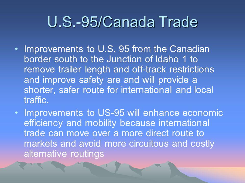 U.S.-95/Canada Trade Improvements to U.S.