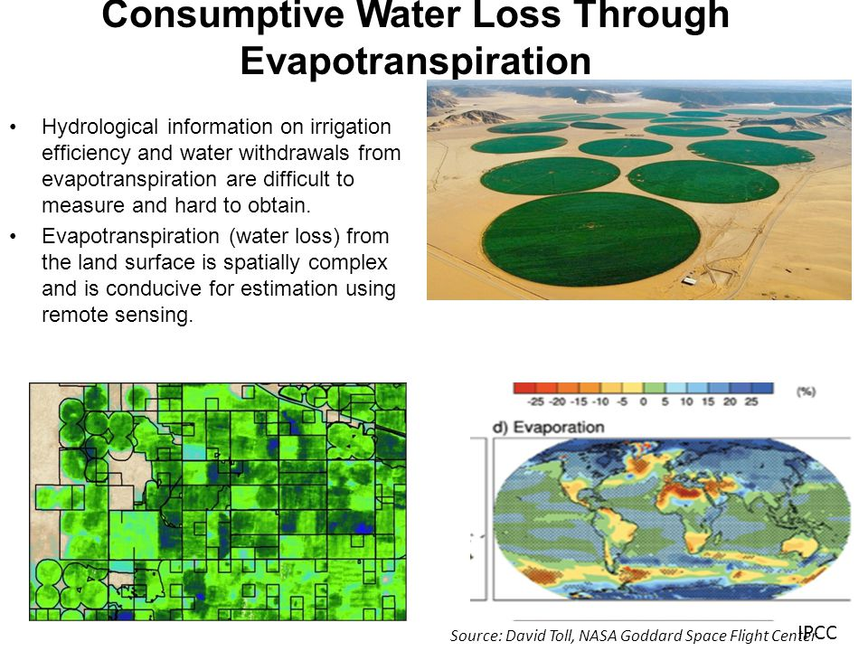 Metric: Agricultural Water Use Year Water Use in Acre Feet Irrigated Hectares Mean Water Use in Millimeters Source 2000 9,313,505 1,437,520 790 - 1021 Alfalfa (.77) IDWR/METRIC 2002 -- 1,176,516 -- Census of Agriculture 2000 -- 1,367,859 -- USGS 1997 -- 1,241,522 -- Census of Agriculture 1995 4,396,707 1,097,225 490 (807 Alfalfa) (.61) USGS 1992 -- 1,169,710 -- Census of Agriculture 1990 6,817,991 1,235,348 670 (957 Alfalfa) (.70) USGS/IDWR 1987 -- 1,146,018 -- Census of Agriculture RESULTS Source: Rick Allen, University of Idaho