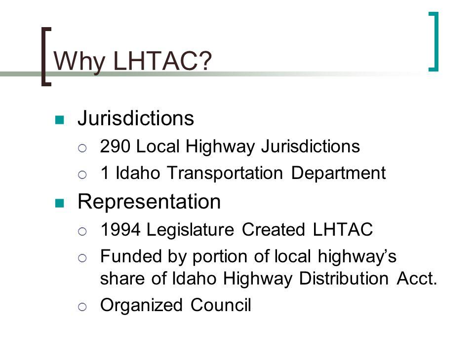 Why LHTAC.