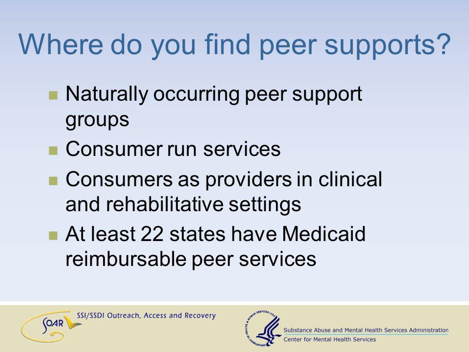 Peer Supports at the VA Tobbie Jackson, Certified Peer Specialist VA Medical Center Hampton, Virginia