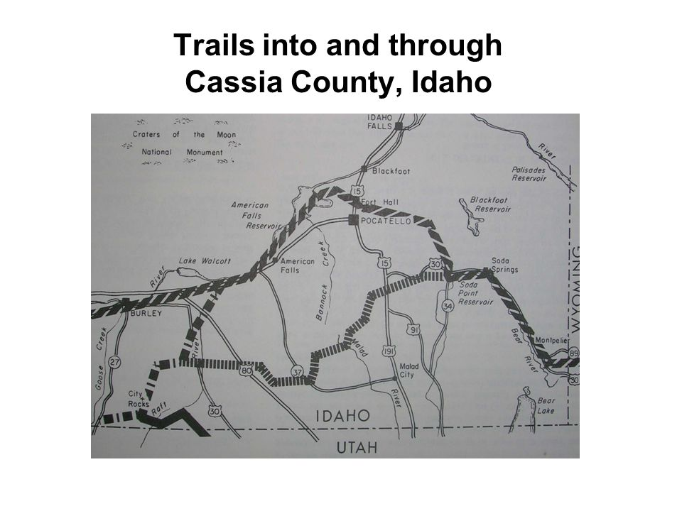 Order presented 1843 California Trail established by Chiles later called Ft.
