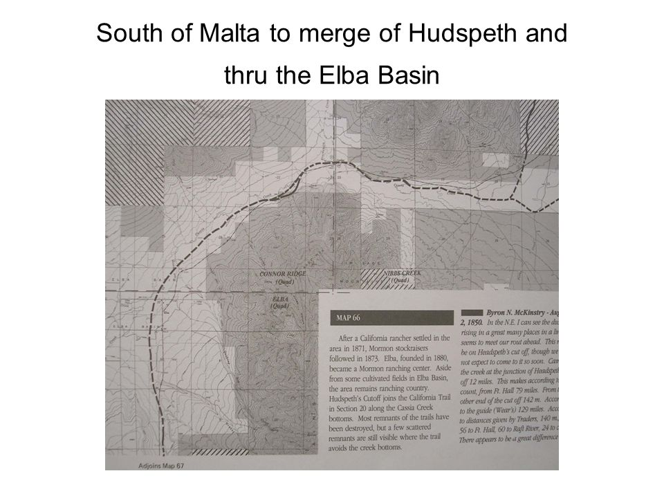 South of Malta to merge of Hudspeth and thru the Elba Basin