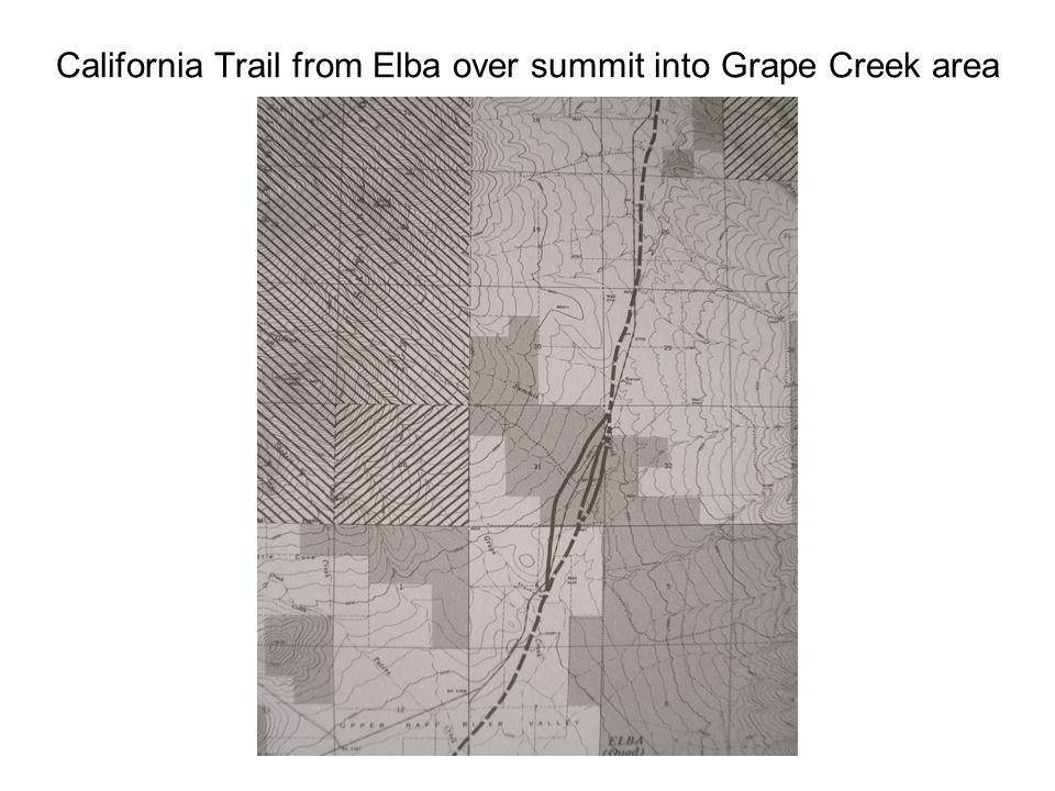 California Trail Elba Almo Summit to Twin Sisters