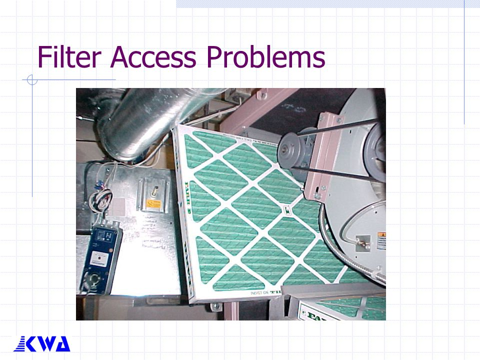 Filter Access Problems