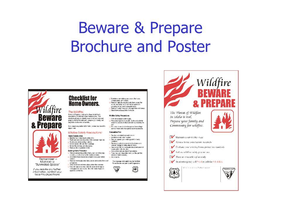 Beware & Prepare Brochure and Poster