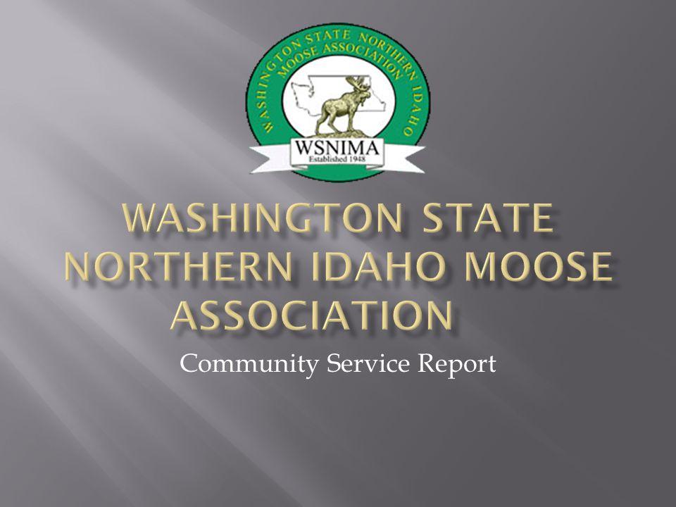 Community Service Report