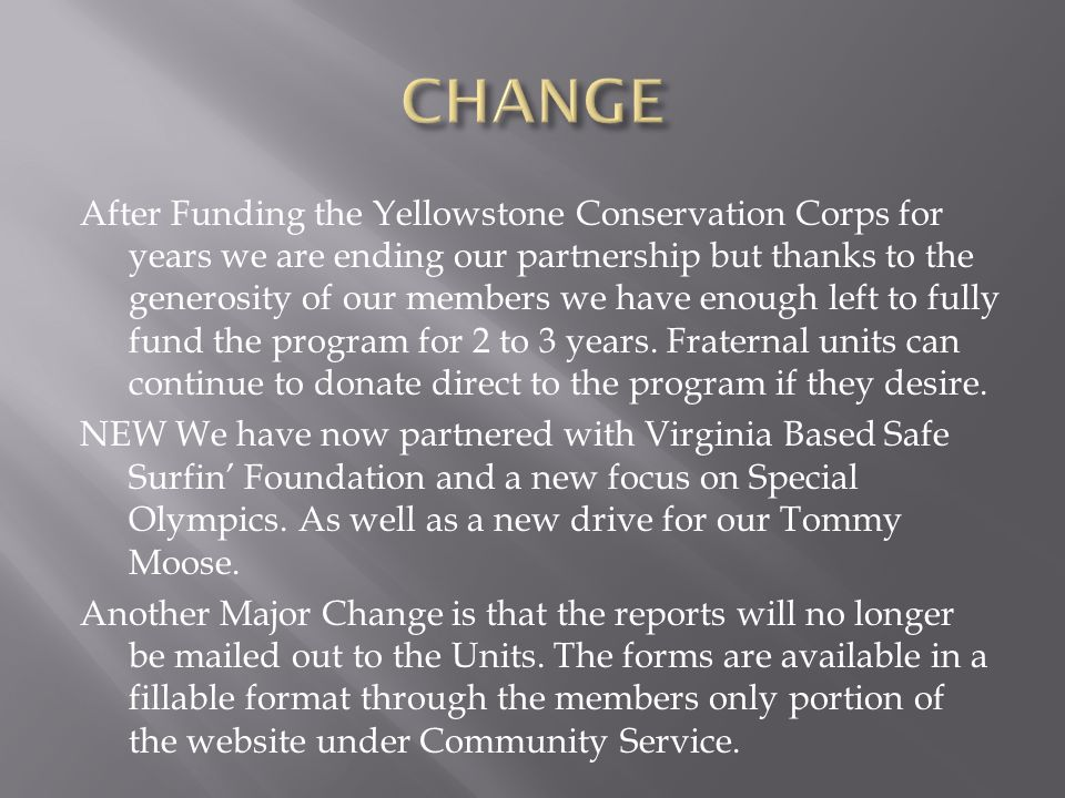 After Funding the Yellowstone Conservation Corps for years we are ending our partnership but thanks to the generosity of our members we have enough left to fully fund the program for 2 to 3 years.