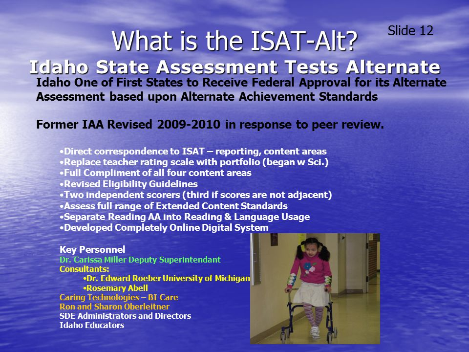 What is the ISAT-Alt.
