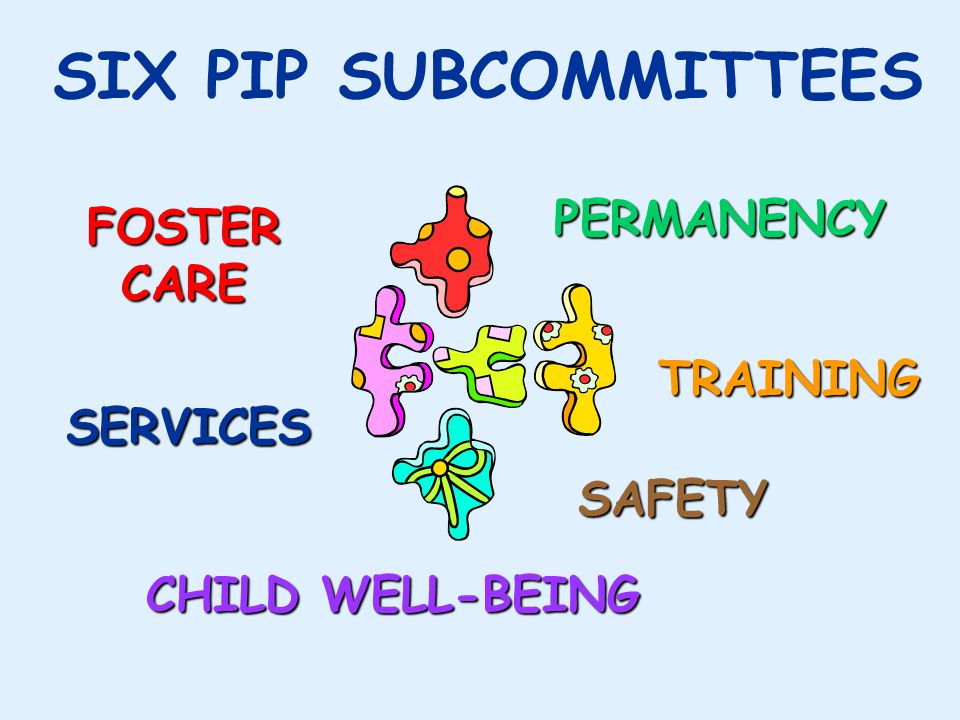Subcommittee Composition n Each subcommittee has: –Both State staff and community partners –A leader and 2 co- leaders to facilitate and organize the work