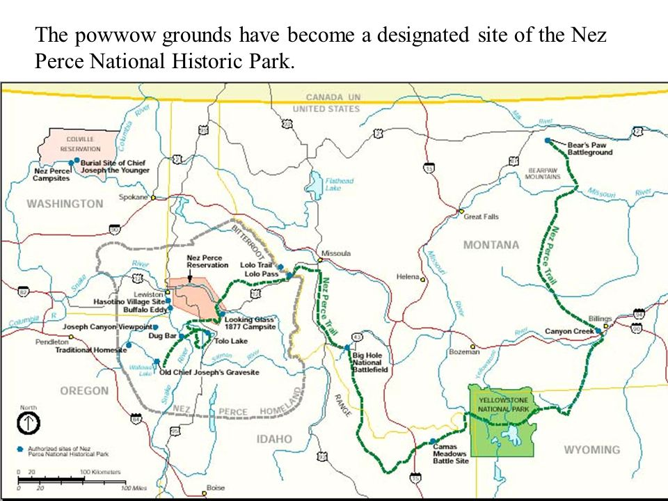 The powwow grounds have become a designated site of the Nez Perce National Historic Park.