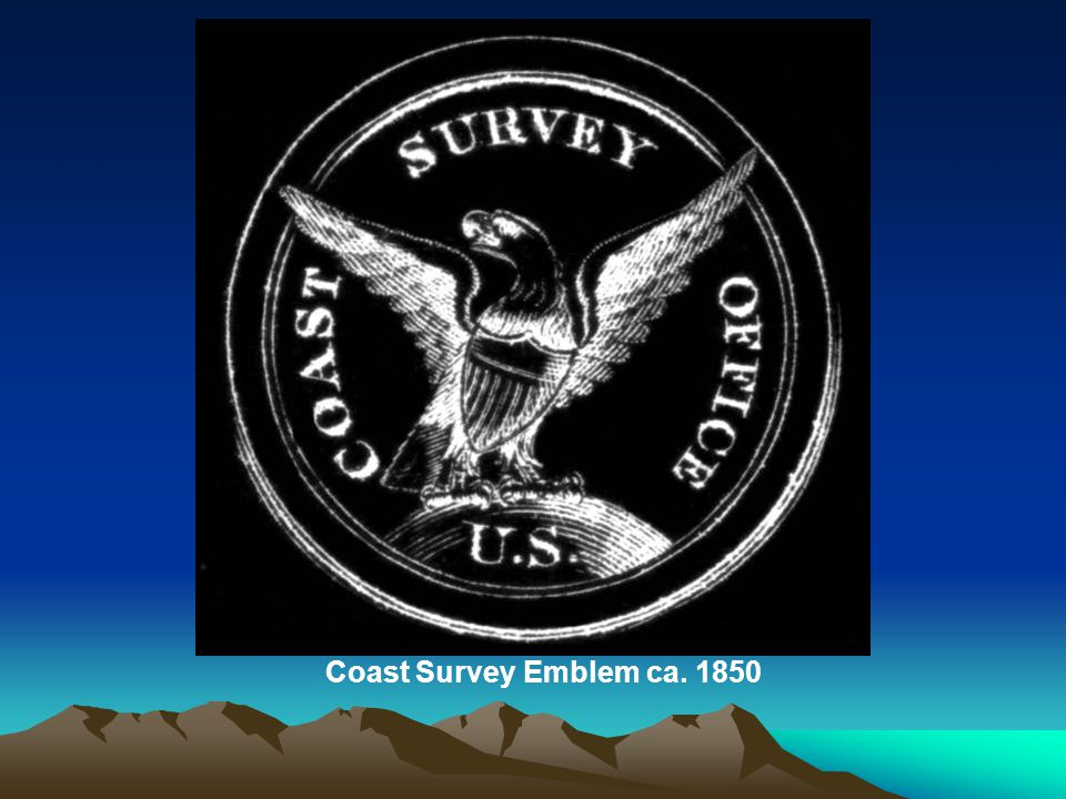Coast Survey Emblem ca. 1850
