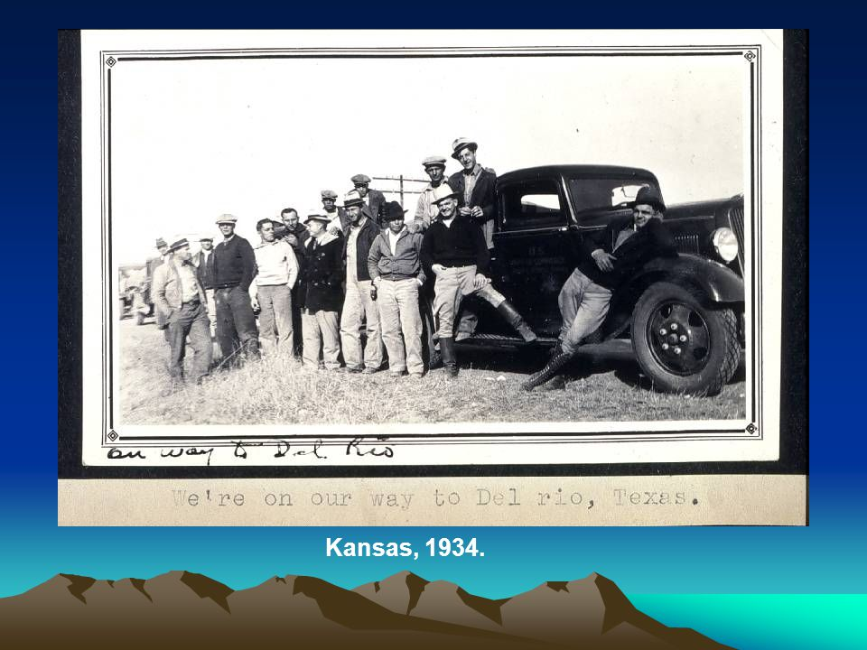Kansas, 1934.