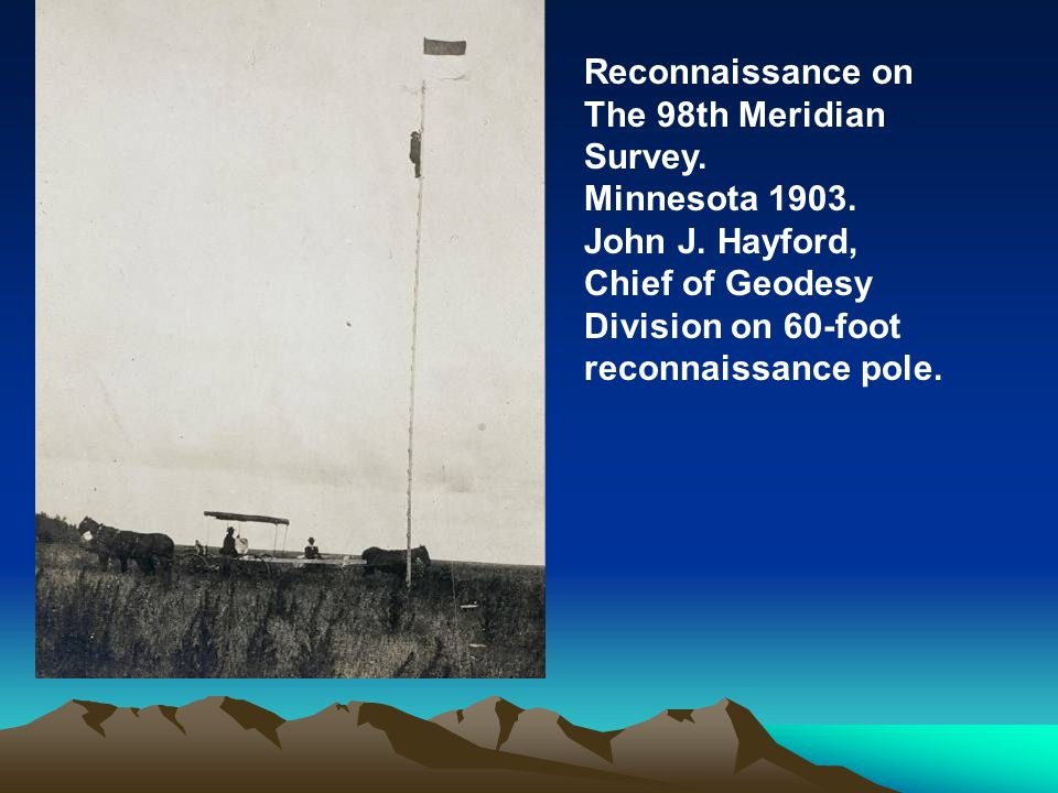 Reconnaissance on The 98th Meridian Survey. Minnesota 1903.