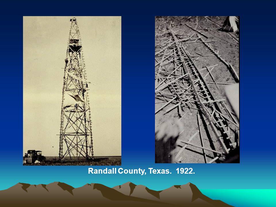 Randall County, Texas. 1922.