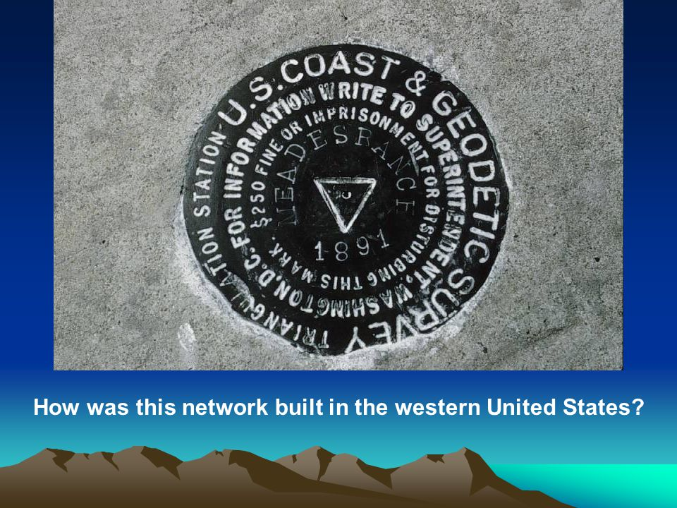 How was this network built in the western United States