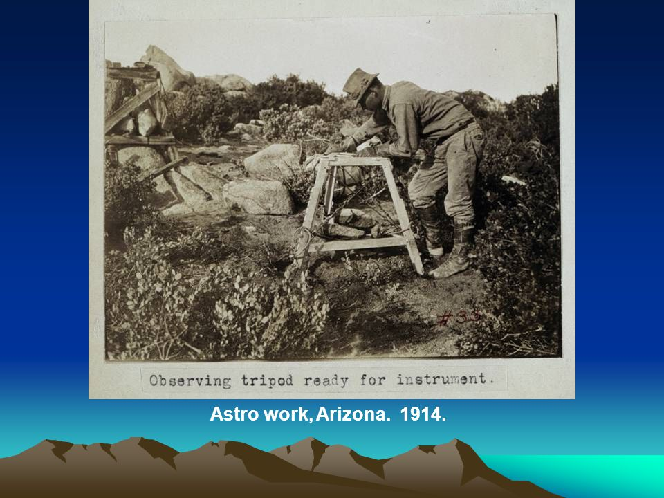Astro work, Arizona. 1914.