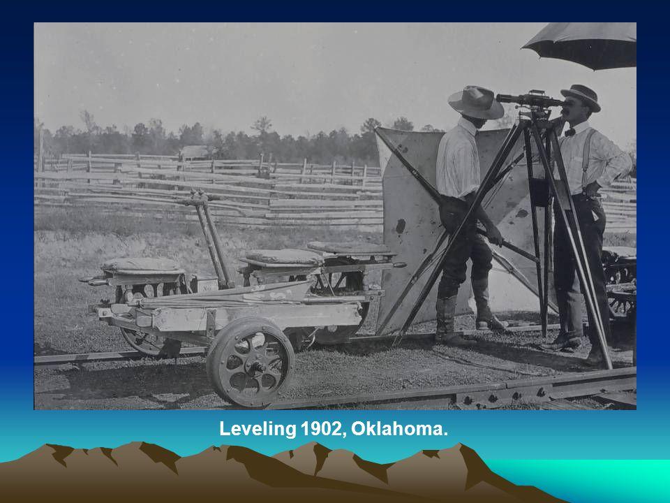 Leveling 1902, Oklahoma.