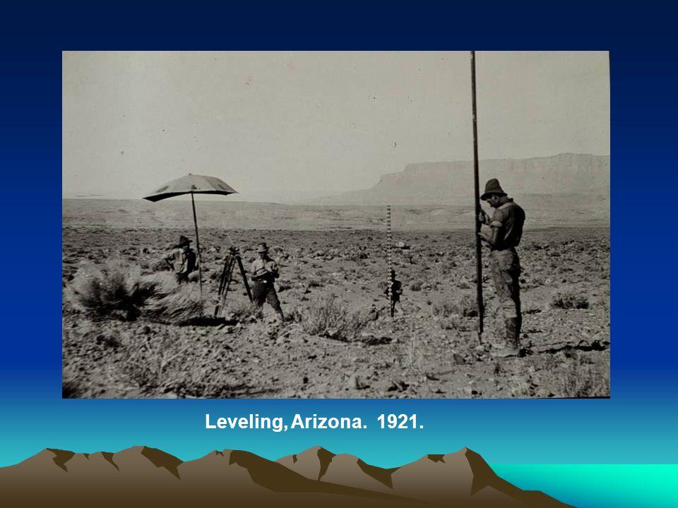 Leveling, Arizona. 1921.