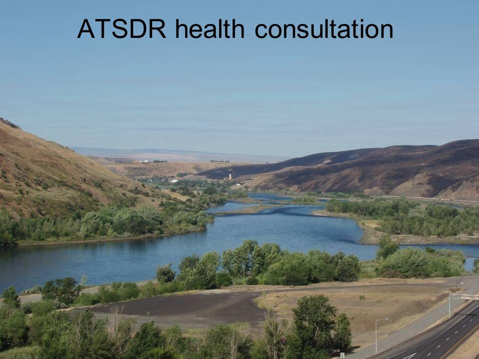 ATSDR health consultation
