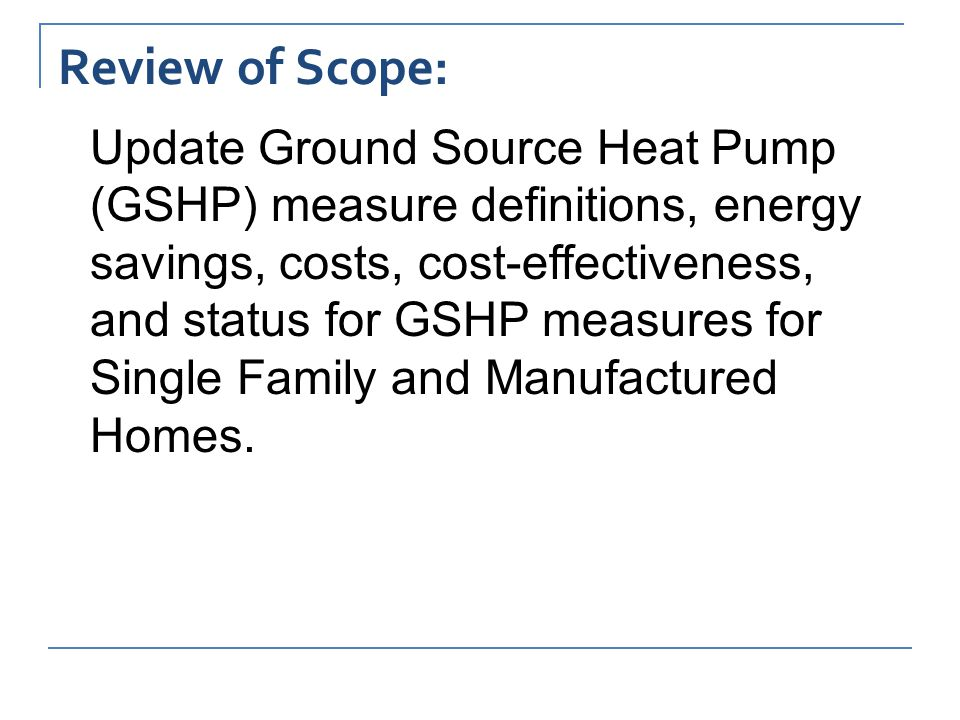 GSHP Sizing & Costs