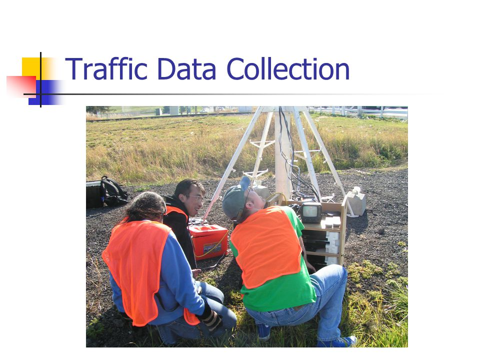 Conclusions Traffic Tracker is a good tool to collect time based traffic flow data.