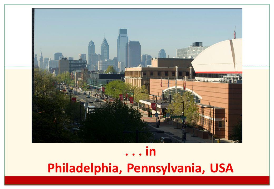 ... in Philadelphia, Pennsylvania, USA http://www.temple.edu