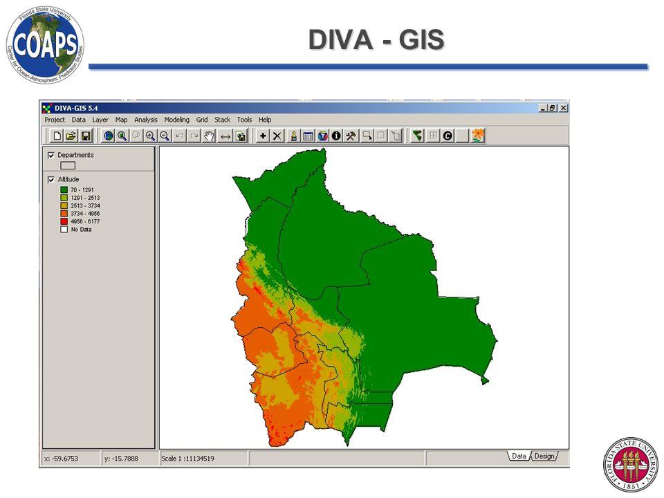 DIVA - GIS