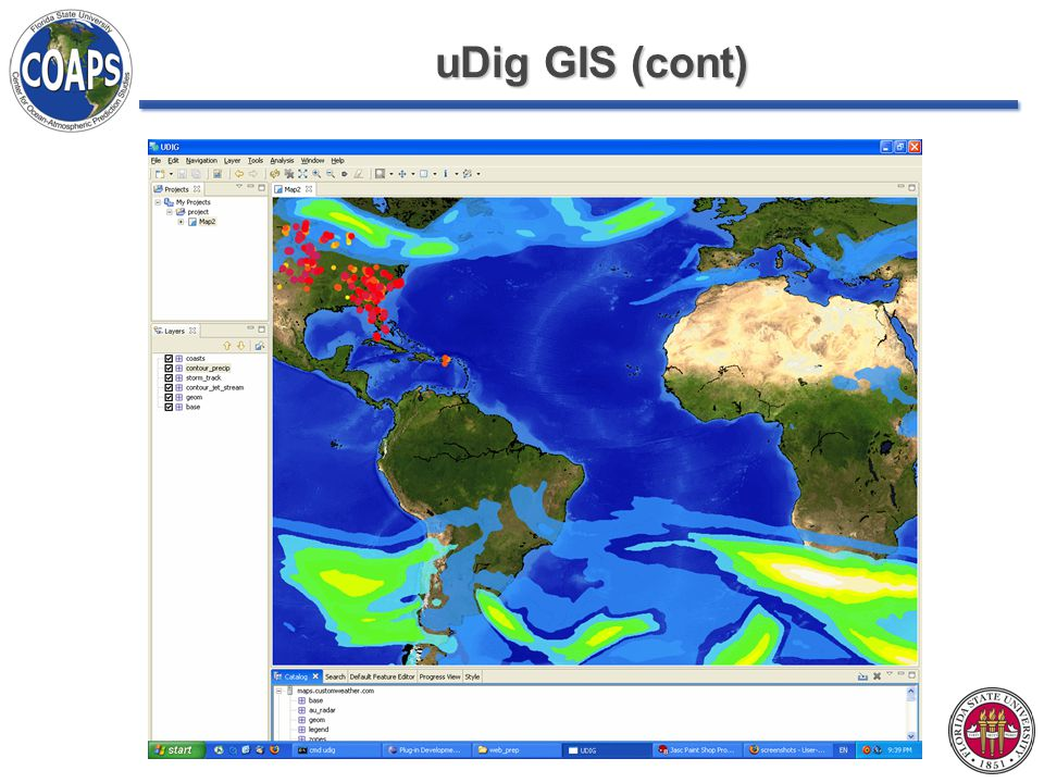 uDig GIS (cont)