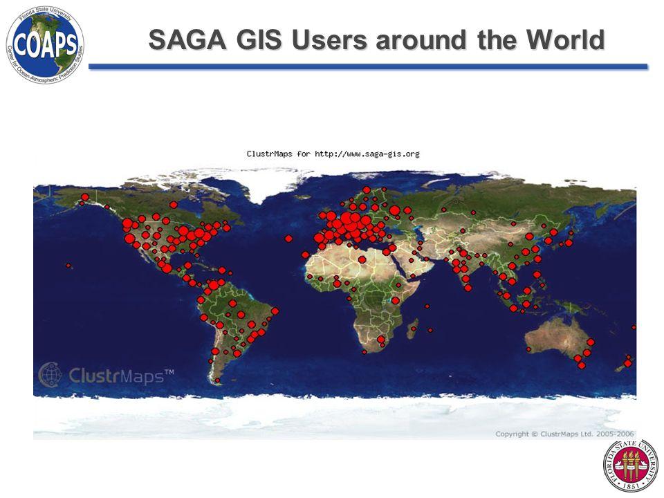 SAGA GIS Users around the World