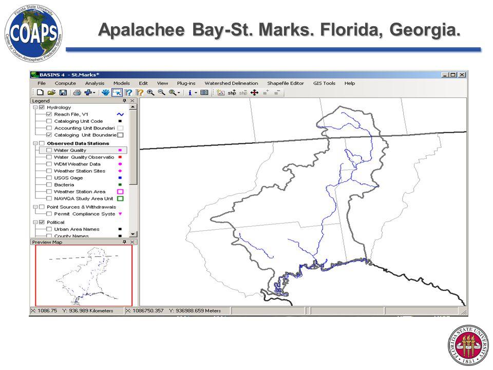 Apalachee Bay-St. Marks. Florida, Georgia.