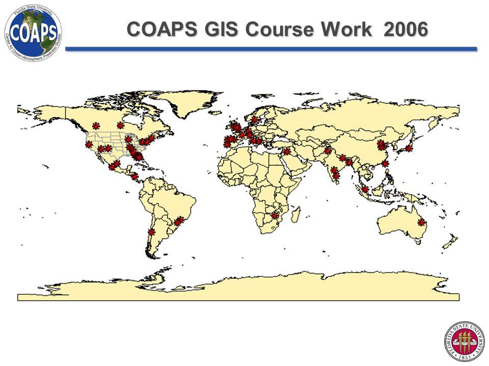 COAPS GIS Course Work 2006