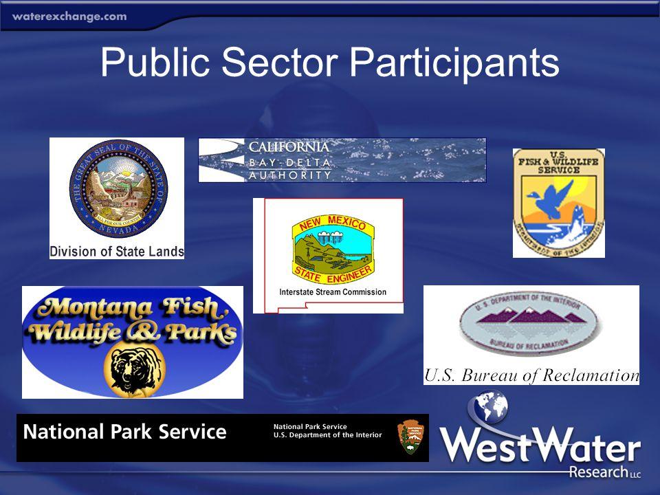 Public Sector Participants