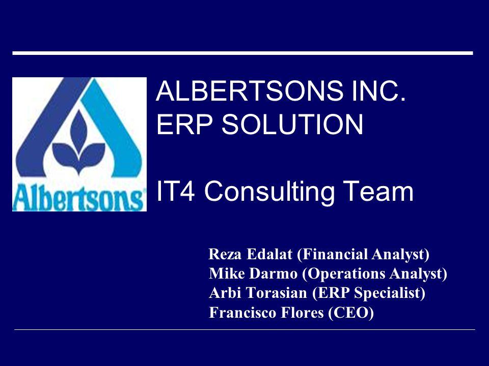 ALBERTSONS INC.