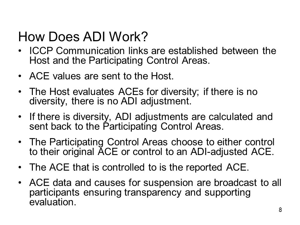 8 How Does ADI Work.
