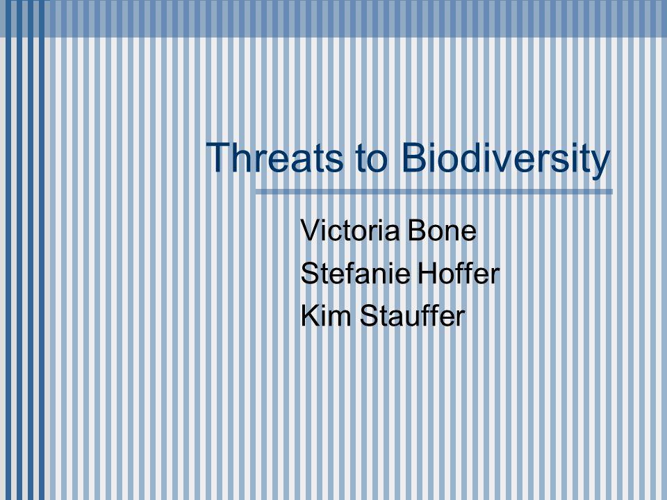 Pollution's effect on Biodiversity