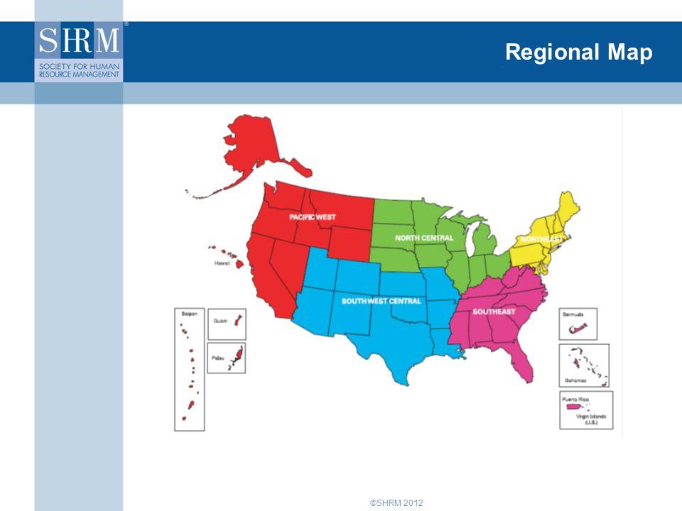 ©SHRM 2012 Regional Map