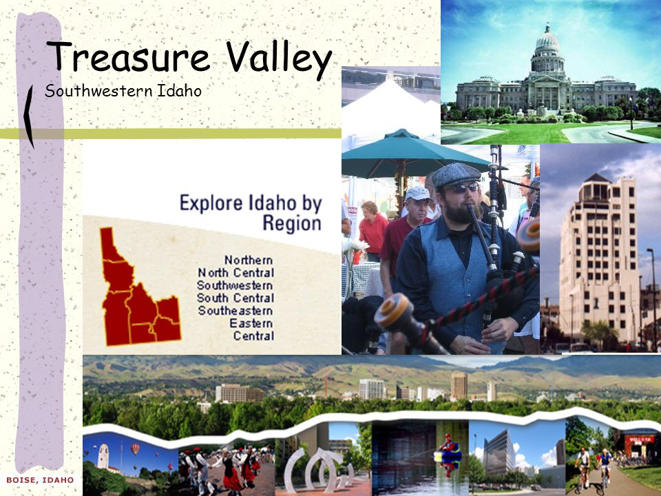 Treasure Valley Southwestern Idaho