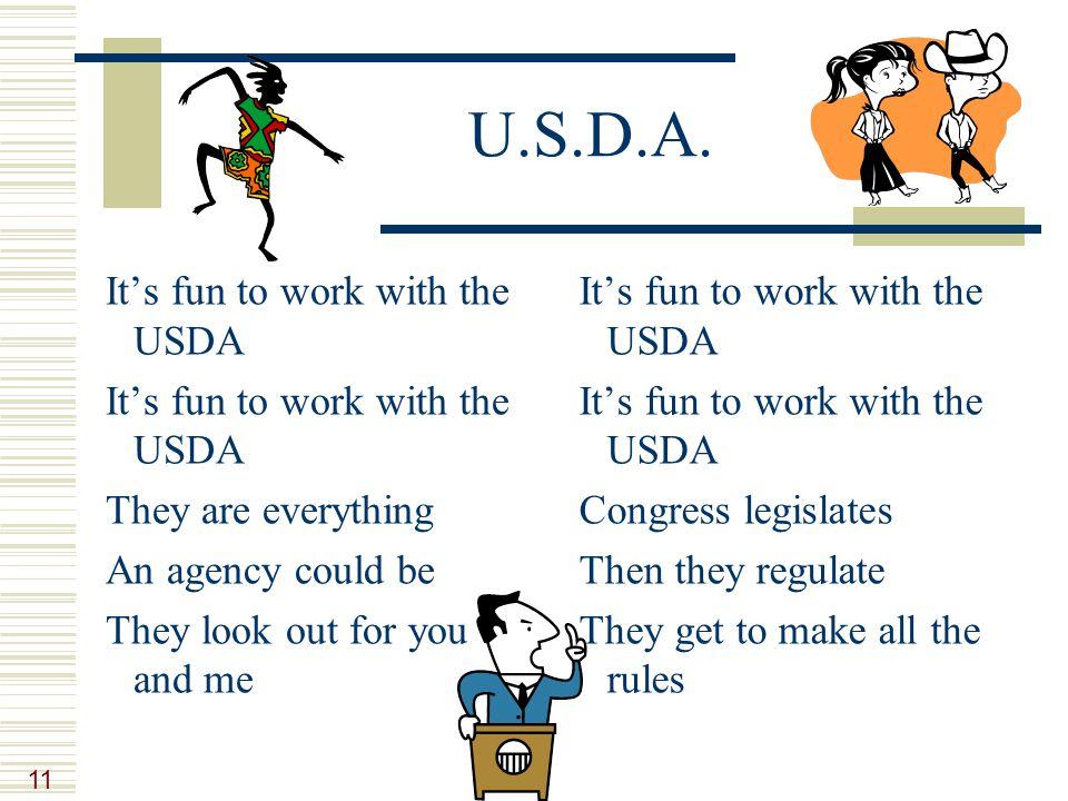 11 U.S.D.A.