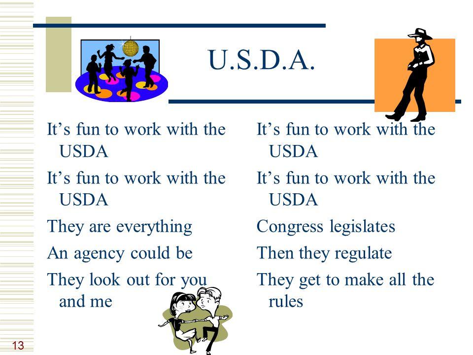 13 U.S.D.A.
