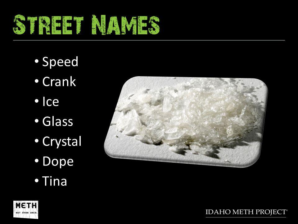 Speed Crank Ice Glass Crystal Dope Tina