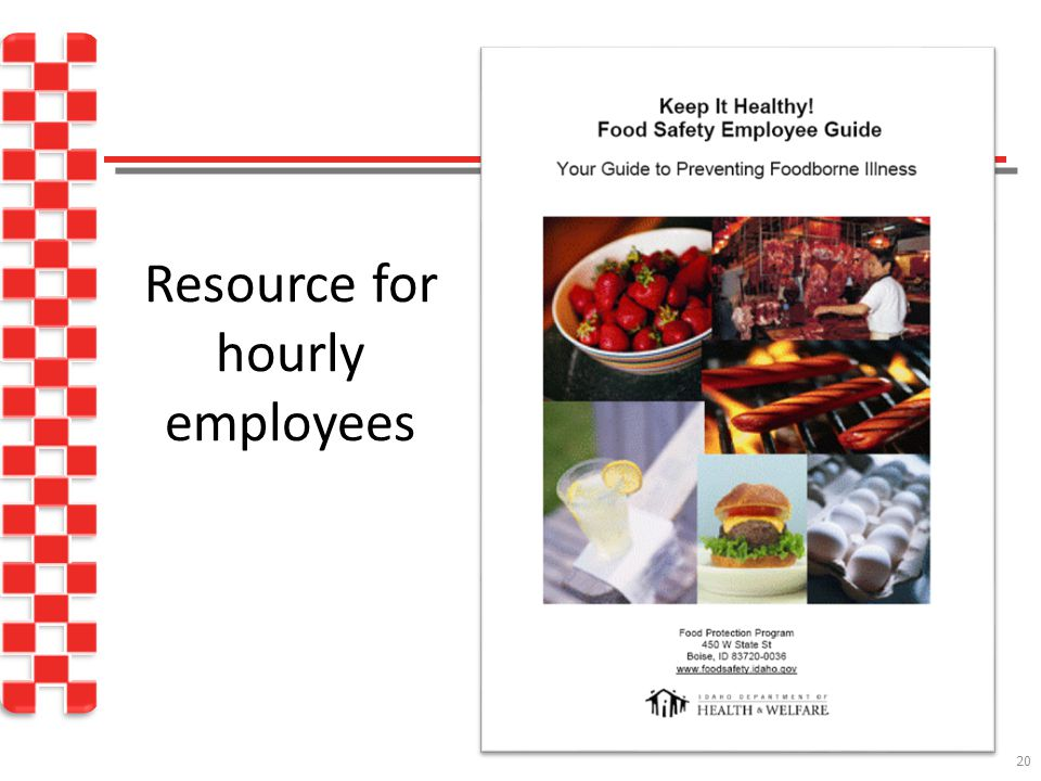 Resource for hourly employees 20