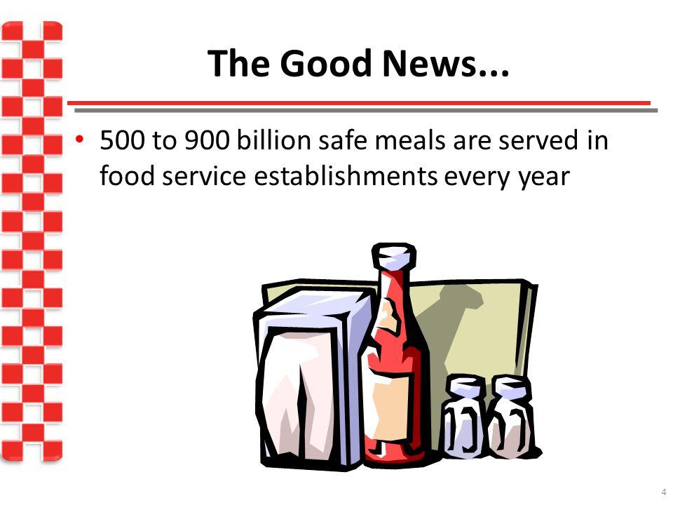 4 The Good News...