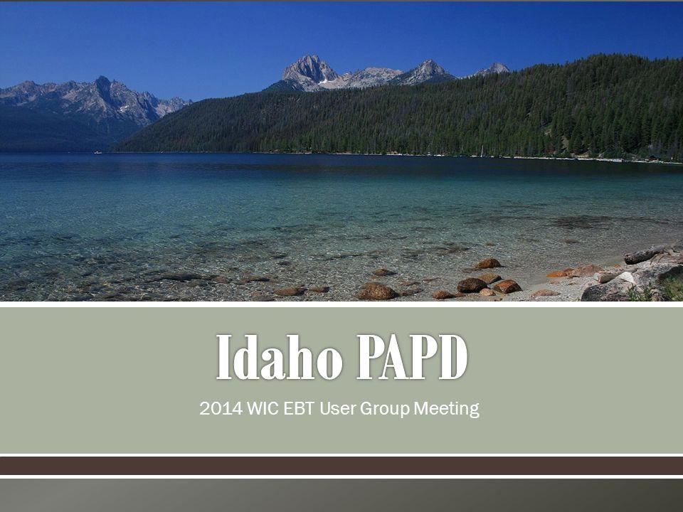 2014 WIC EBT User Group Meeting