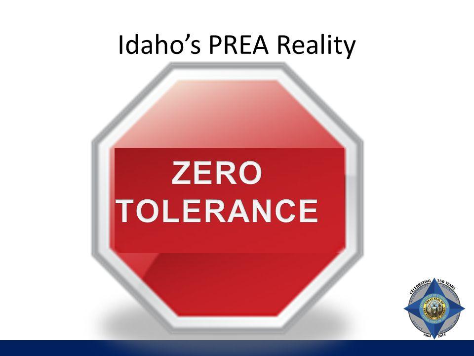 Idaho's PREA Reality