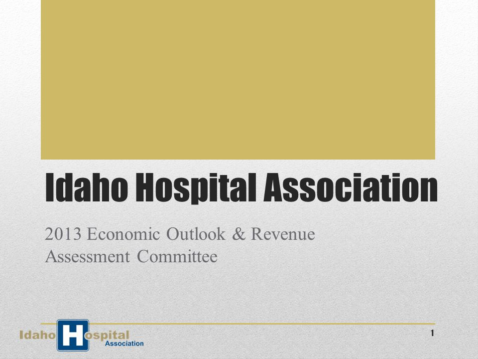 Community Hospitals 6.5% Idaho GSP $3.78 billion 2