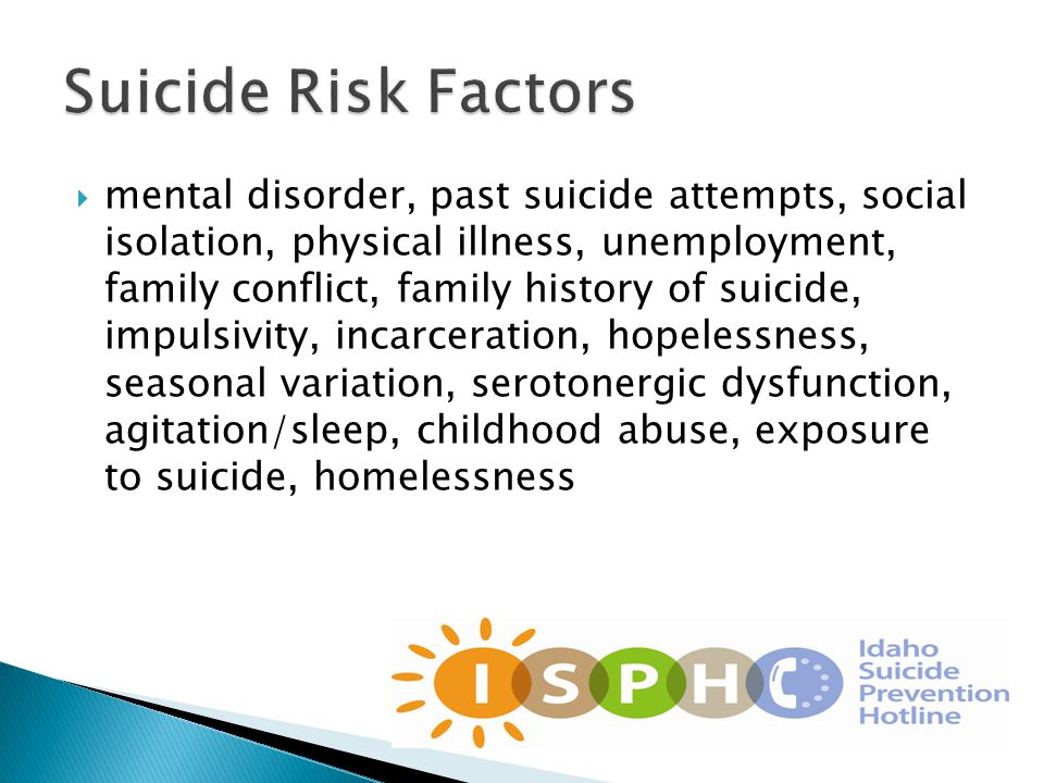  1.Communicate with staff about the new suicide prevention initiative in your office.