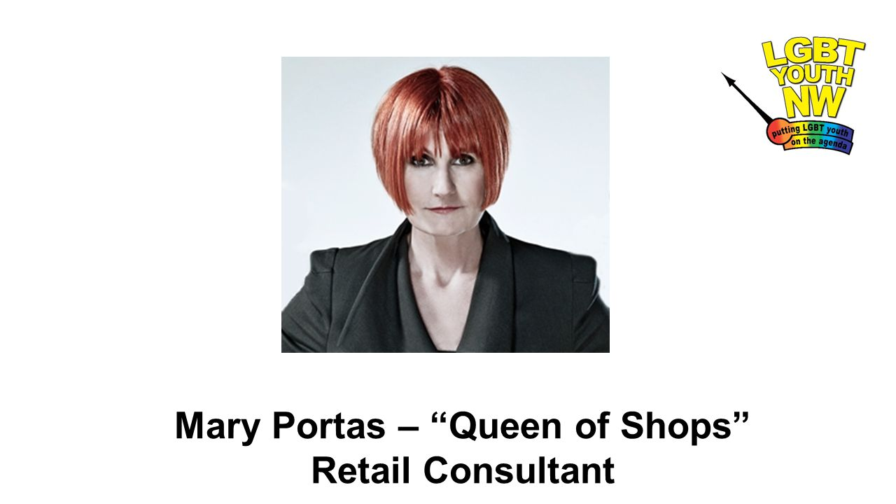"Mary Portas – ""Queen of Shops"" Retail Consultant"