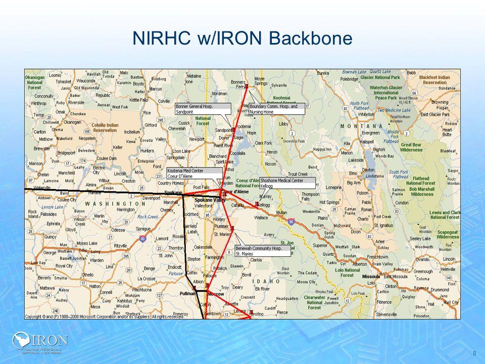 NIRHC w/IRON Backbone 8