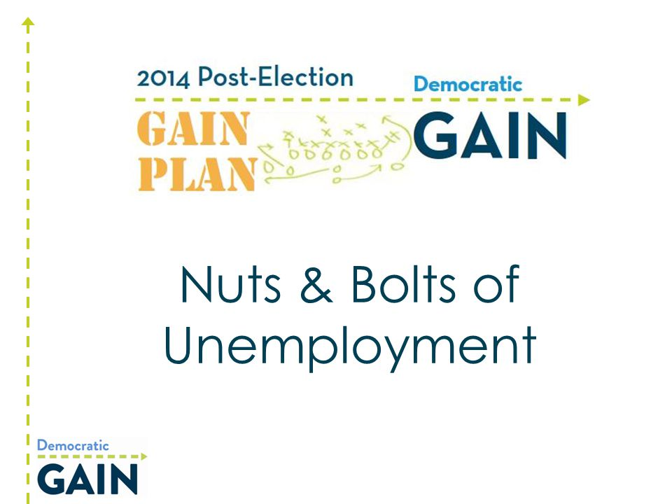 The Unemployment Safety Net Yes, it can be scary. But, it's not the end of the world!